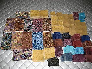 Paduccah Nine Patch cut fabric
