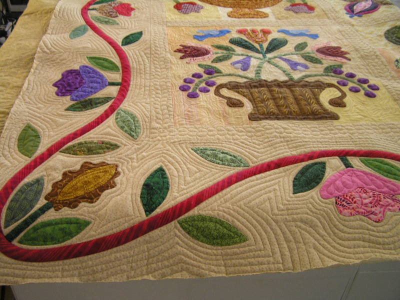 Applique_border_quilting